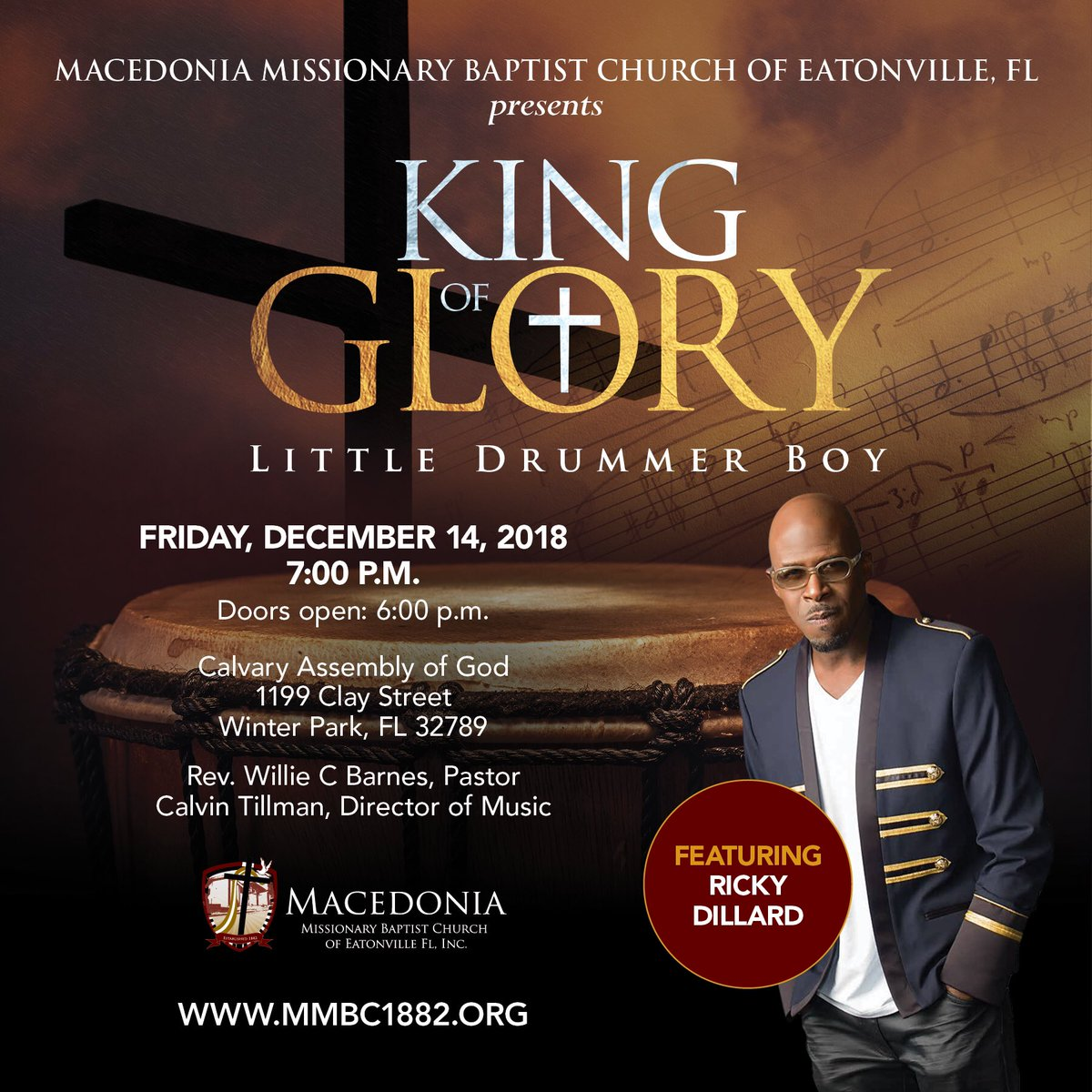 Macedonia Mbc On Twitter Join Us For Our Annual King Of Glory