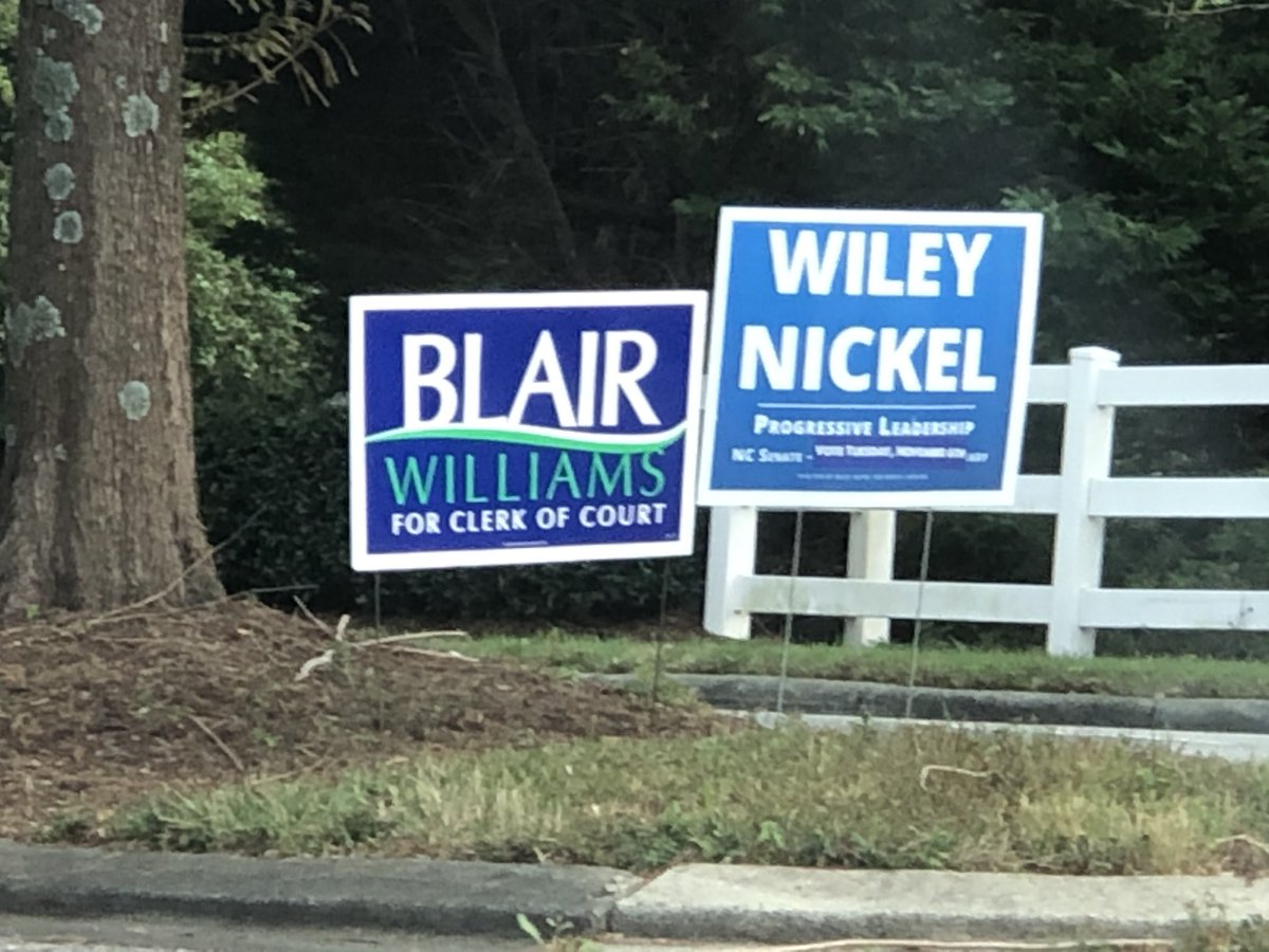 test Twitter Media - RT @michaeldailey: @blairsbananas You don't happen to be running for Clerk of Court in Raleigh, NC do you? https://t.co/EL1cDt5bpg