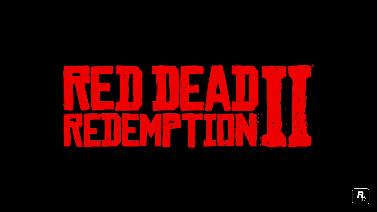 RT for a chance to win the official Red Dead Redemption 2 logo t-shirt. Rules: https://t.co/Mv5pOpseCU
