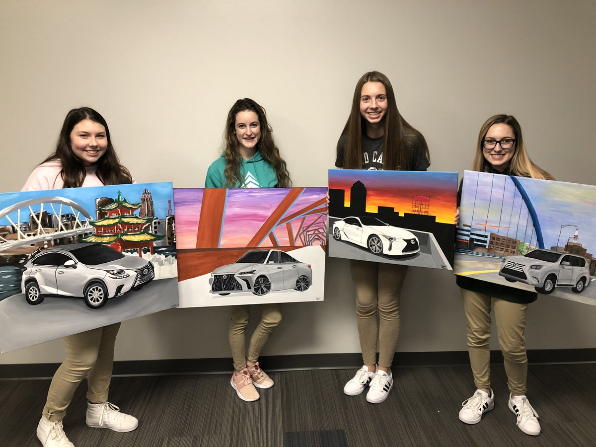 Willis Auto Campus >> Des Moines Christian On Twitter Dmc Art Students Were
