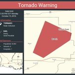 Image for the Tweet beginning: Tornado Warning including Church Point