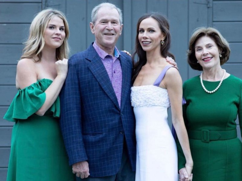 After All These Years Is Bush >> George Bush Daughter Wedding Photo Baaz
