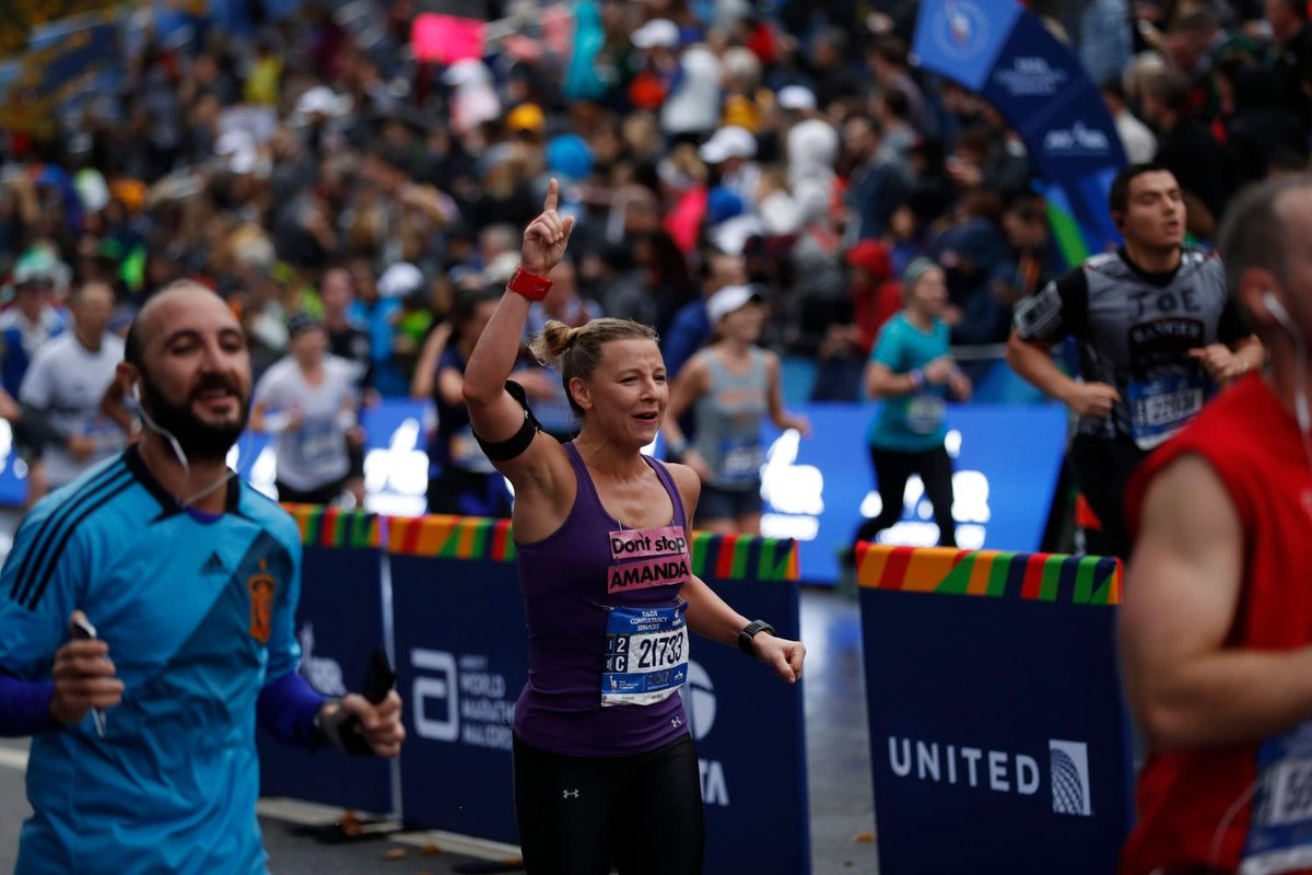 .@united is proud to support runner's journeys. Book your flight to the #TCSNYCMarathon today at bit.ly/2ymrA2r using offer code ZFSR870329 for discounted fares to the start line. Offer is valid with travel dates 7 days before and 7 days after the race.