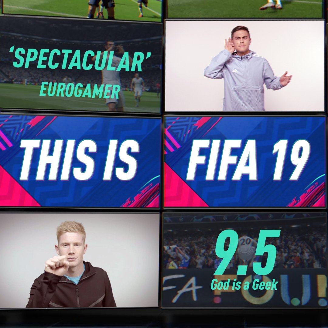 #FIFA19. The ultimate football experience.  https://t.co/EDrw4kphUQ https://t.co/OxeZQpPtYK