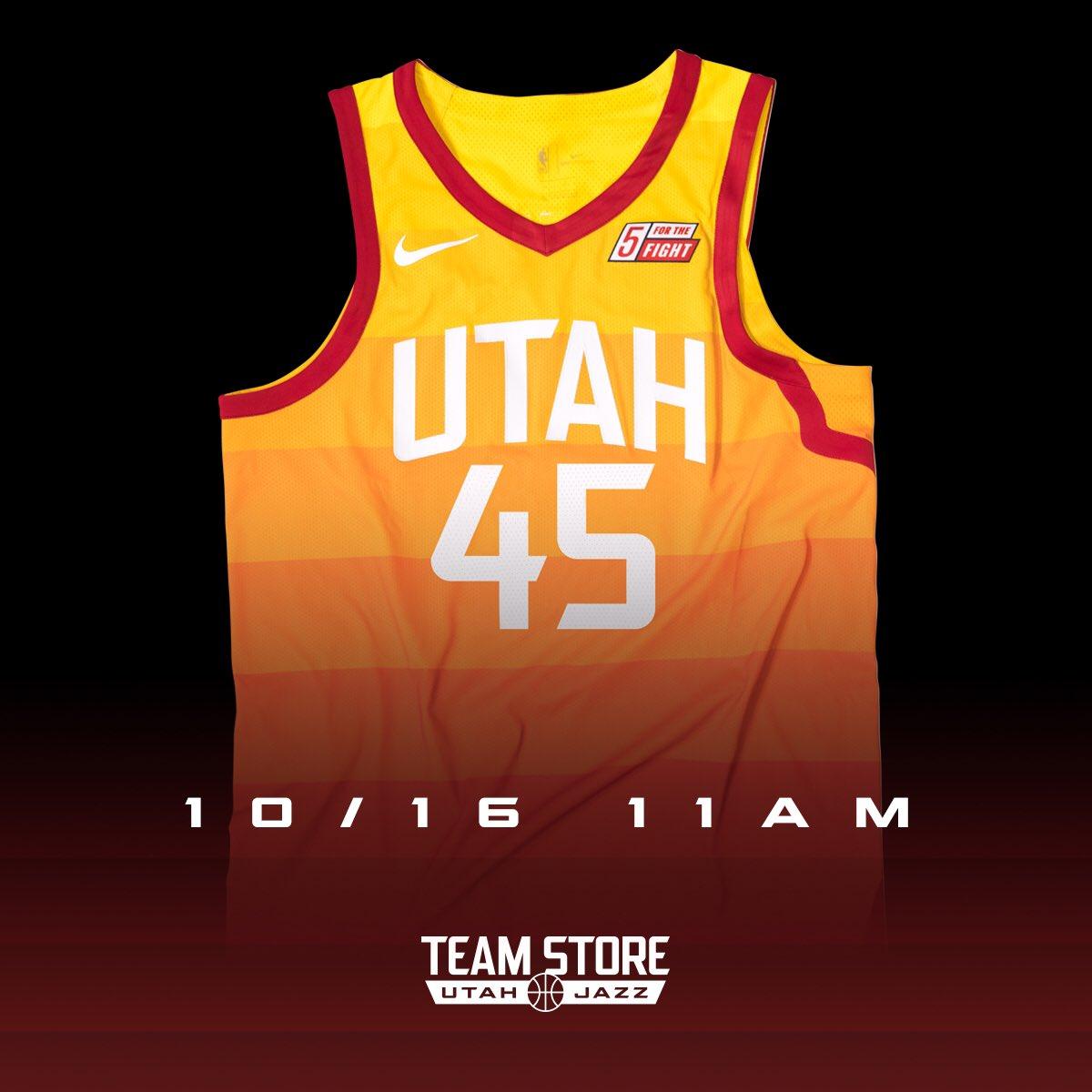 huge inventory 1a4ec f8522 Utah Jazz Team Store on Twitter: