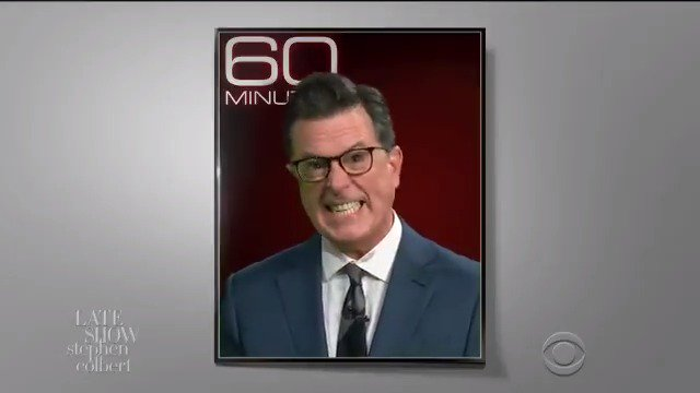 Colbert's spoof of Trump on '60 Minutes' is both hilarious and frightening