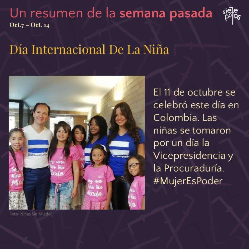 #DíaInternacionalDeLaNiña Latest News Trends Updates Images - sietepolas