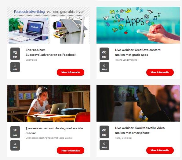 test Twitter Media - Wat een boeiende topics op onze opleidingsagenda!  23/10 Succesvol adverteren op Facebook  6/11 Creatieve content met gratis apps 8/11 Kwaliteitsvolle video met smartphone 12/11 5 weken samen aan de slag met sociale media .... En er is nog meer.  Check:  https://t.co/EzW4MXq52o https://t.co/4KVObMmxGS
