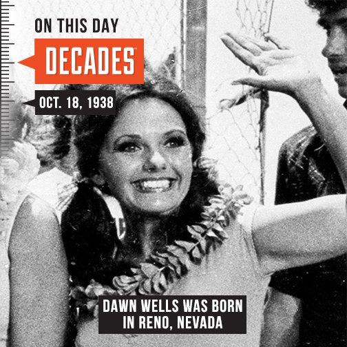 Tonight on \Through the Decades\ we profile actress Dawn Wells 8p ET  Happy 80th Birthday Dawn!