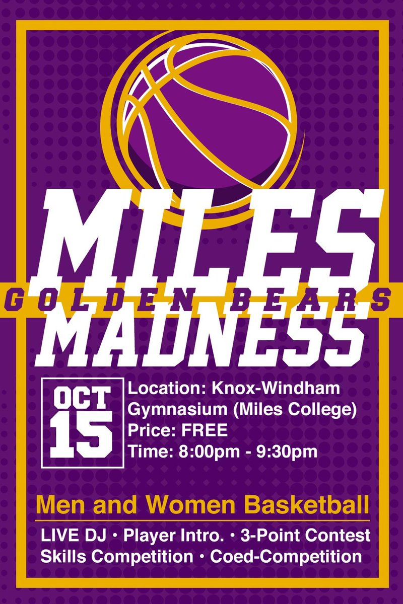 Miles Golden Bears on Twitter: