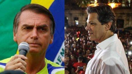 Ibope - votos válidos: Bolsonaro 59% x Haddad 41% #ValorNasEleições #Eleicoes2018