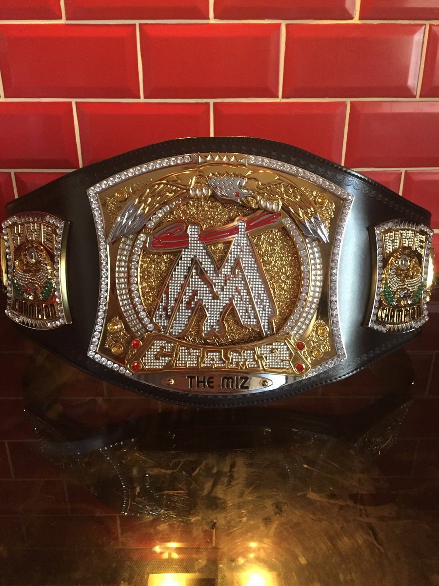 #themiz needs another main title run soon, made the ic great again , defo think he meds a run in the main title picture #miz #awesome #wwe #worker #deserveit #workhorse #spinner #wwetitle #WrestleMania  #wrestlijg