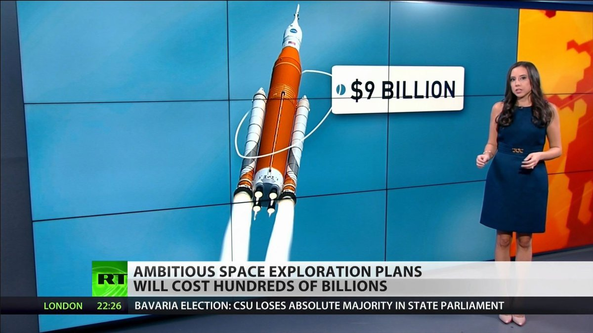 Ambitious NASA Rocket Project to Cost $9 Billion (VIDEO) https://t.co/ypE3iYEGfi  #NASA @scottienhughes @saramdo17