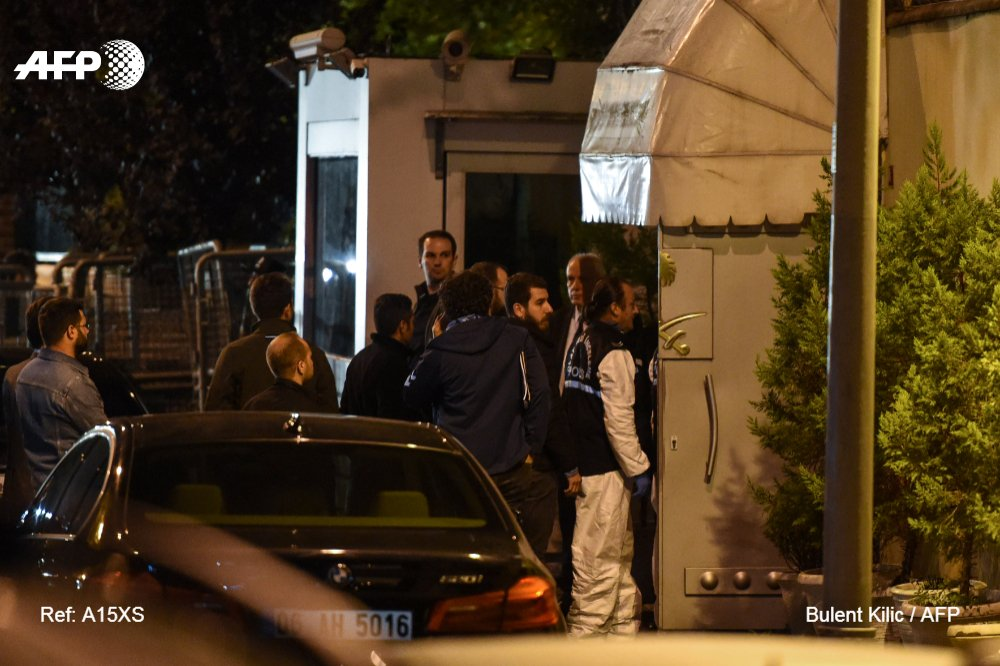 Turkish police on Monday searched the Saudi consulate in Istanbul for the first time since journalist Jamal Khashoggi went missing, as US President Donald Trump floated the idea that  'rogue killers ' could be to blame for his disappearanchttps://t.co/7EUzLbnoLSe