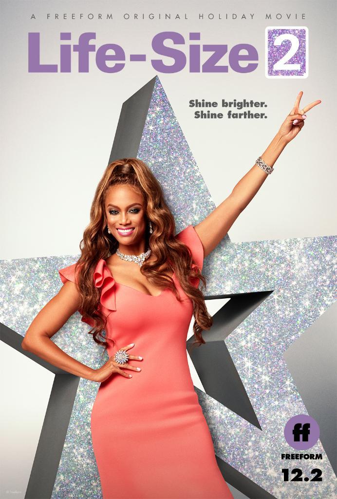 Shine brighter. Shine farther. #LifeSize2 premieres Sunday, December 2 during @FreeformTV's @25Days of Christmas.