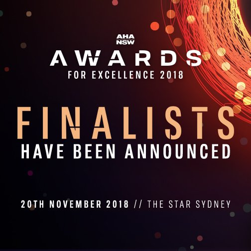 The wait is over! Finalists have been announced! View the full list here: https://www.ahansw.com.au/wp-content/uploads/2018/10/AHA-NSW-FinalistList-NAMES-v4-RBG.pdf…  #awards #hospitality #pubs #bars
