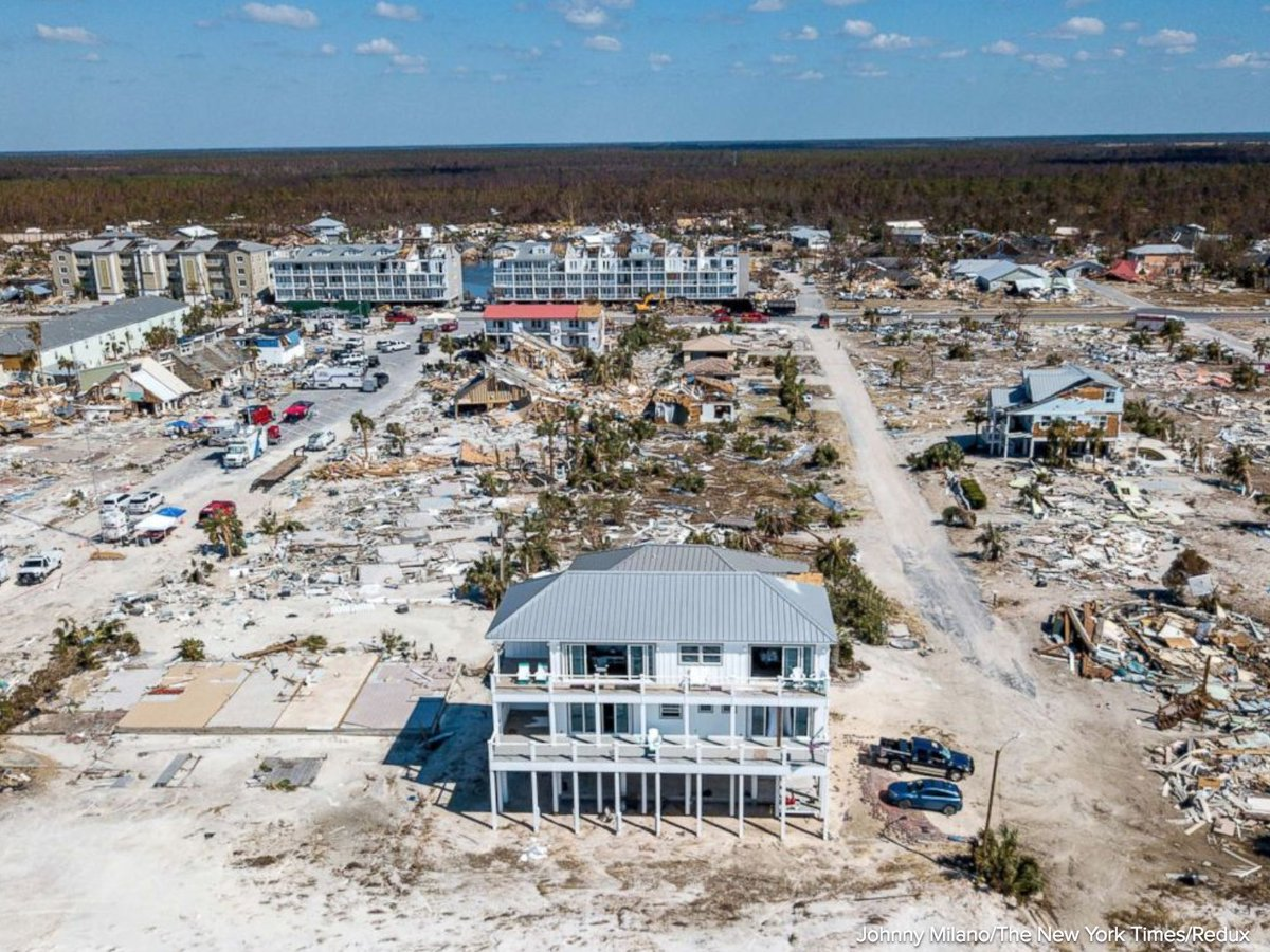 Seaside home still standing after Hurricane Michael demolishes Mexico Beach, Florida: 'We intended to build it to survive.' https://t.co/uf728LOEZ0