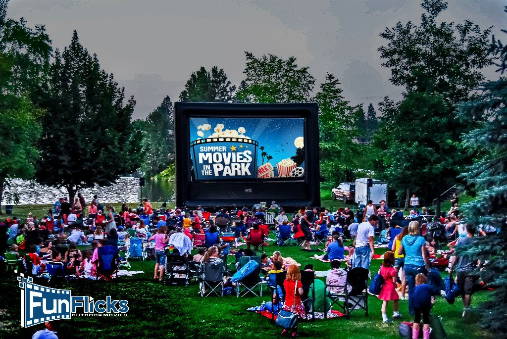 Funflicks On Twitter Special Offer Outdoor Movie With