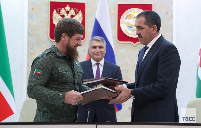 Соглашение об установлении границ между Чечней и Ингушетией вступило в силу  https://t.co/kZ3mBHZ681