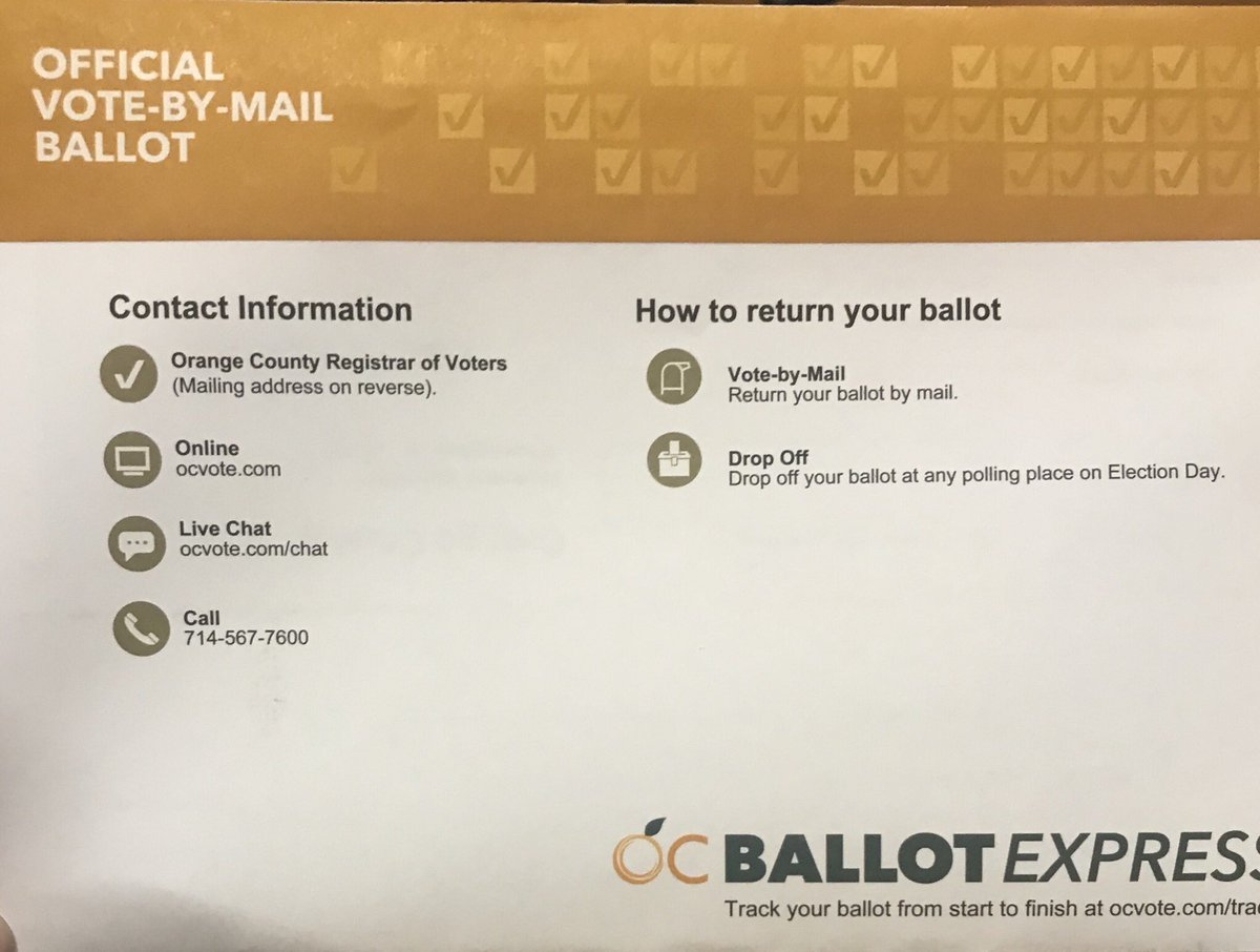 can i drop off my mail in ballot at any polling place