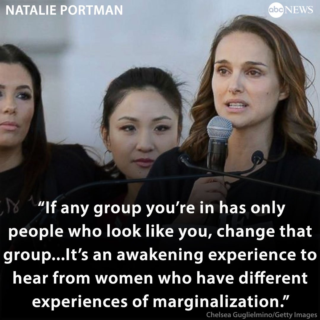 Natalie Portman offers step-by-step guide on how to boost other women. https://t.co/BRvoTGU91w