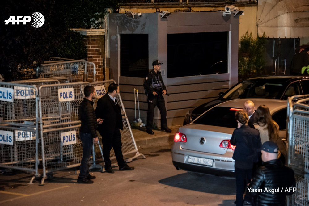 'Rogue killers' could be to blame for the disappearance of Saudi journalist Jamal Khashoggi, President Trump says as Turkish police search the Saudi consulate in Istanbuhttps://t.co/FyuNbcfvEkl