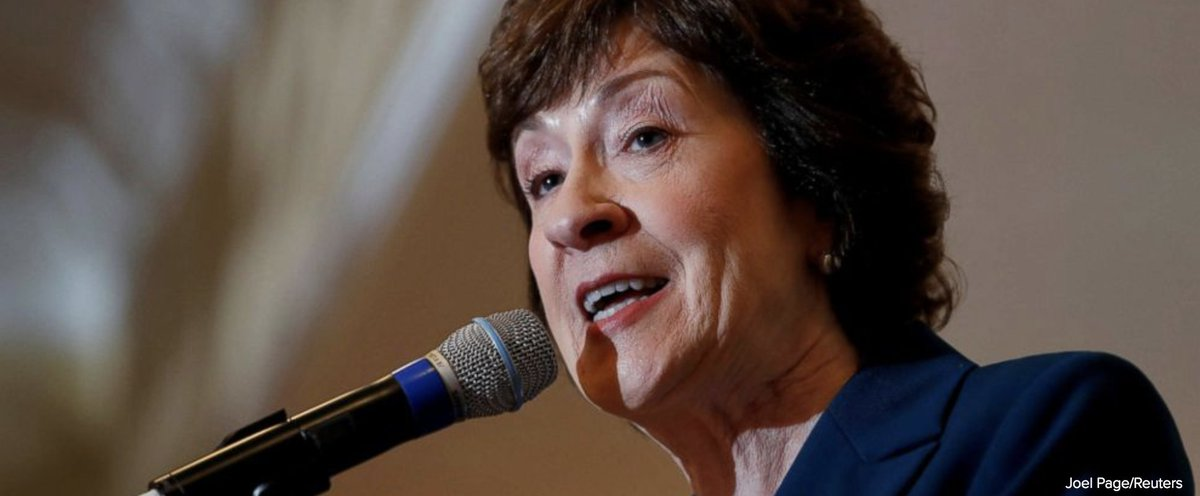 Authorities in Maine investigating suspicious letter sent to Sen. Susan Collins' home. https://t.co/DCt6oNcBfq