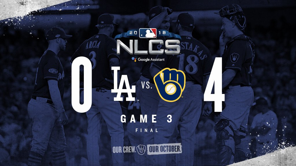 'You're still here? It's over. Go home.' #OurCrewOurOctober https://t.co/Zm6V4DNRNn