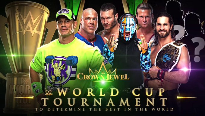 World Cup with 6 Americans. Crown Jewel shouldnt even be a thing to begin with. #CancelCrownJewel Photo
