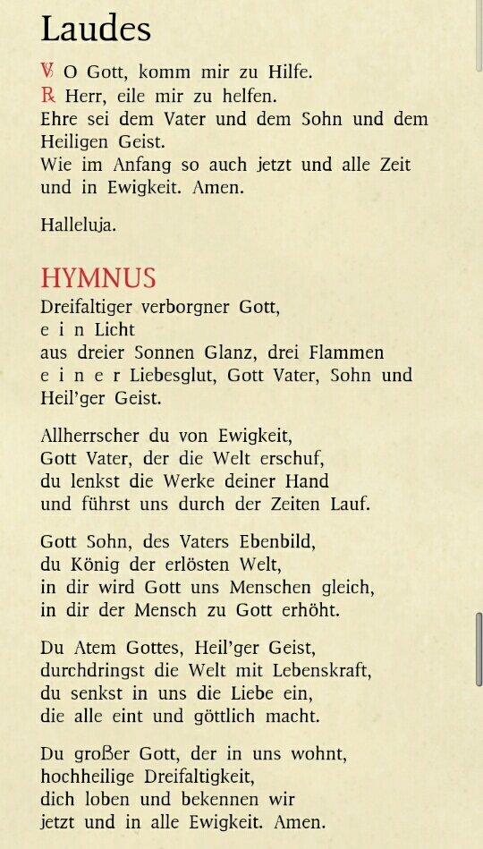 Bellfrell على تويتر Guten Morgen Laudes Stundenbuch