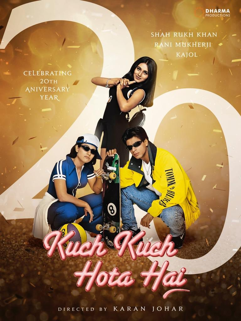 Karan Johar's photo on #20YearsOfKKHH