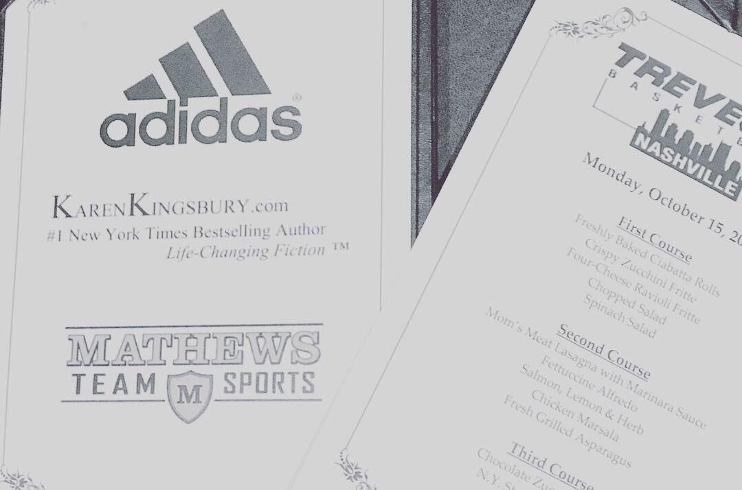 Thx  Maggianos  KarenKingsbury  MathewsTeam  TateMathews  adidas  Trevecca   tnusports Come be a part of something special ... 7b7ecdf514