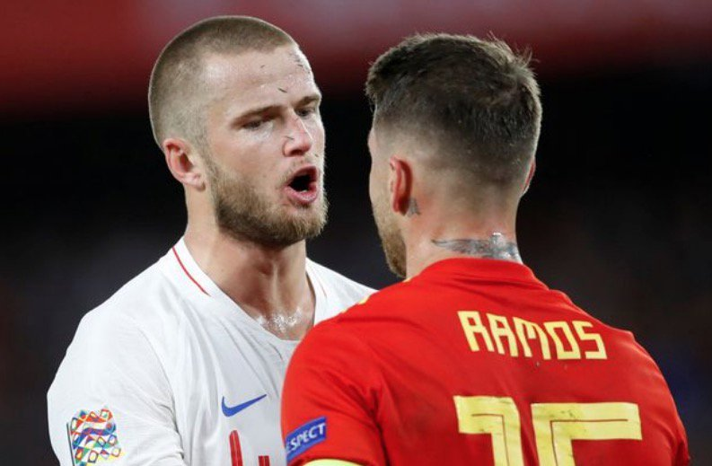 Liverpool fans love what Eric Dier did to Sergio Ramos in England's win over Spain: https://t.co/Yhxas7VPSC #LFC