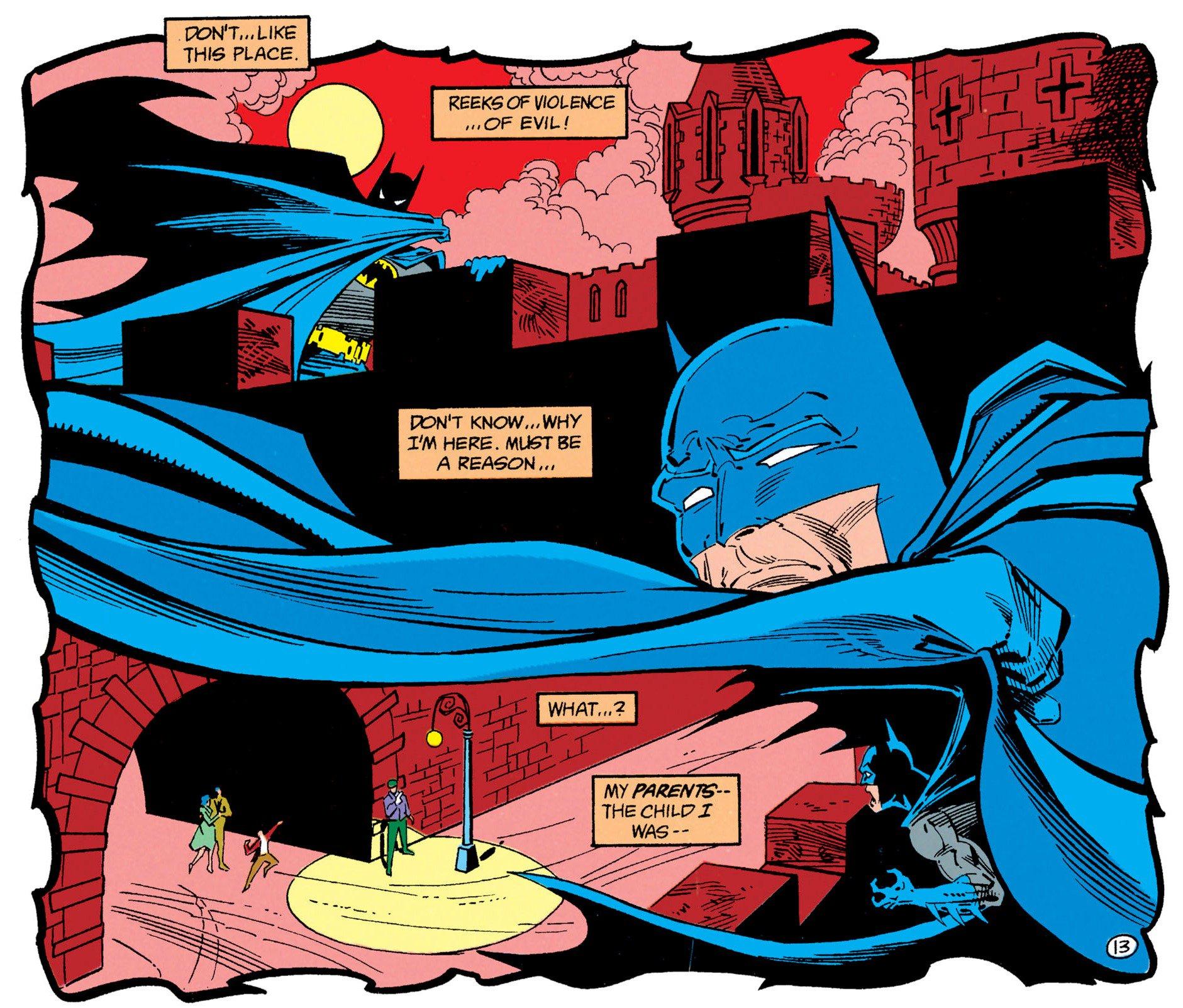 1989 Alan Grant Norm Breyfogle Detective Comics No.606