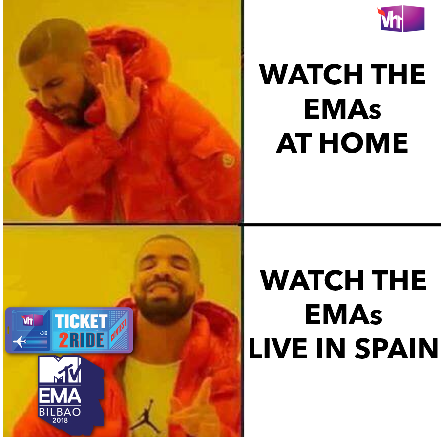 It doesn't need to be God's Plan, now you can watch the @mtvema LIVE in Spain just by participating in a simple #TicketToRide contest by  clicking on this link: https://t.co/ExEcEqiqZE  #EMAs #MTVEMAs #TicketToRideToEMAsT#EMAsOnVh1oEMAs OnVh1