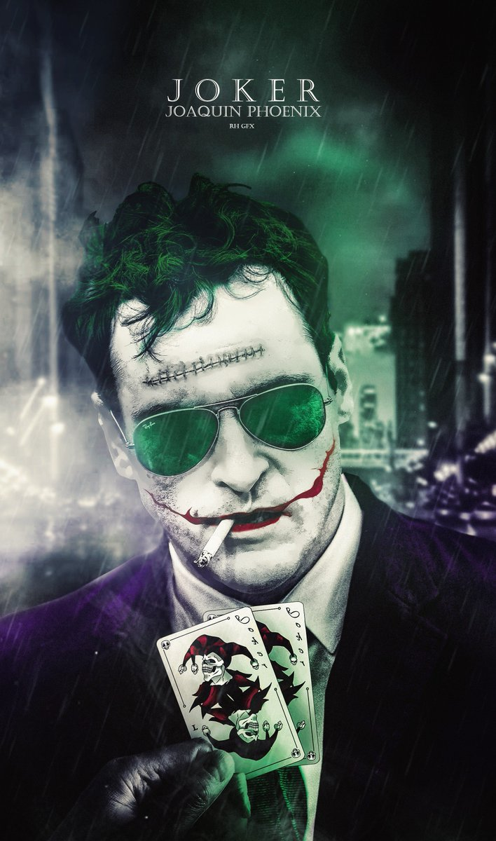 Rhgfx On Twitter Joaquin Phoenix Joker Poster Joker