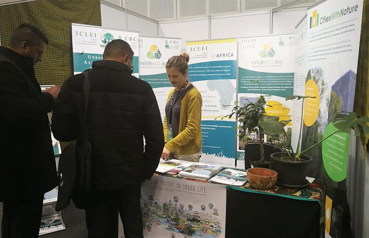 RT @ICLEIAfrica Sharing & exchanging knowledge & information on planning for #nature in #Africancities   At the #PlanningAfrica2018 conference exhibition at @CTICC   #UNARivers #INTERACT-Bio #CitiesWithNature #SAPI