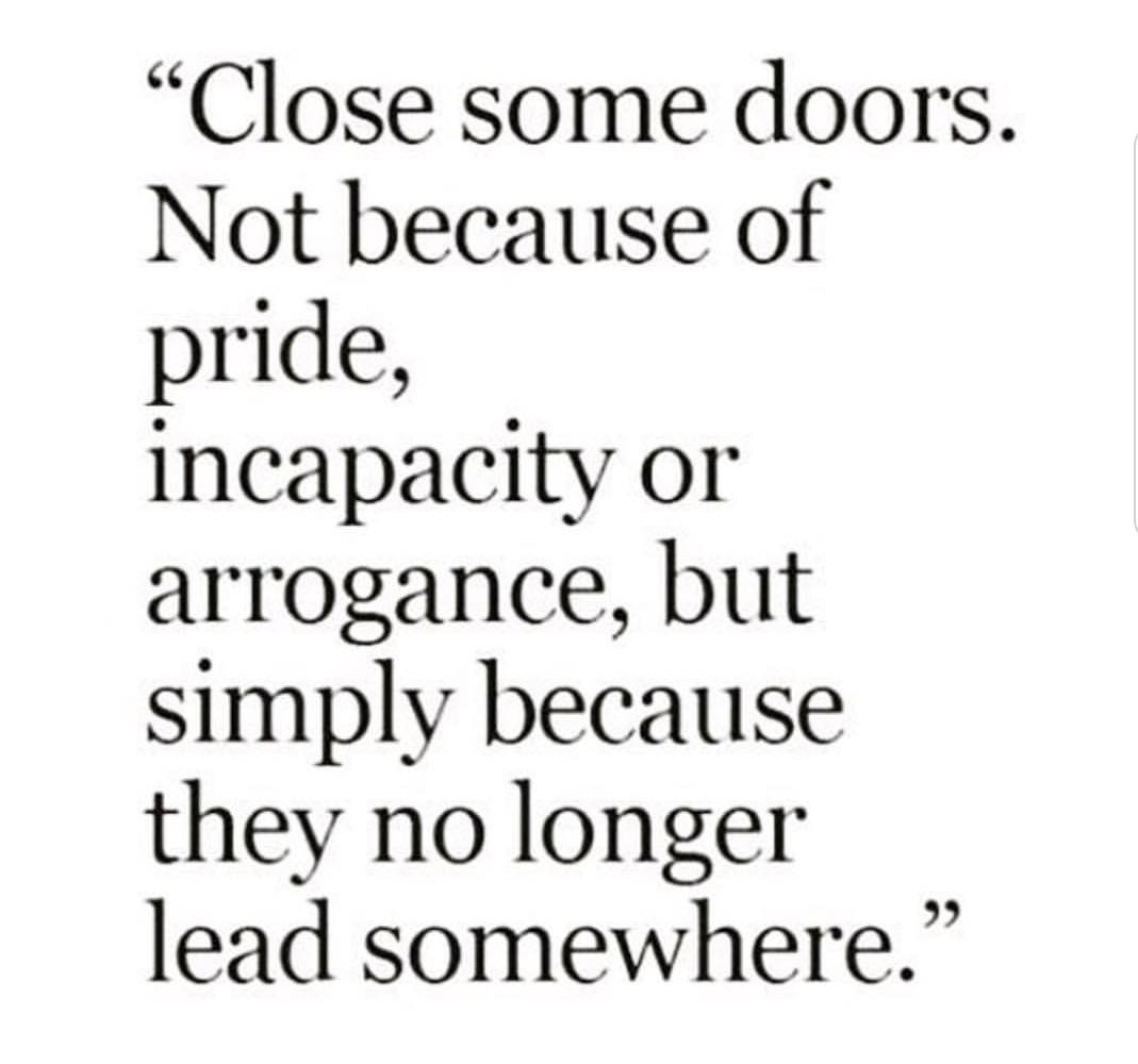 #TuesdayThoughts Close the door behind Move forward to a positively great future 😉❤️