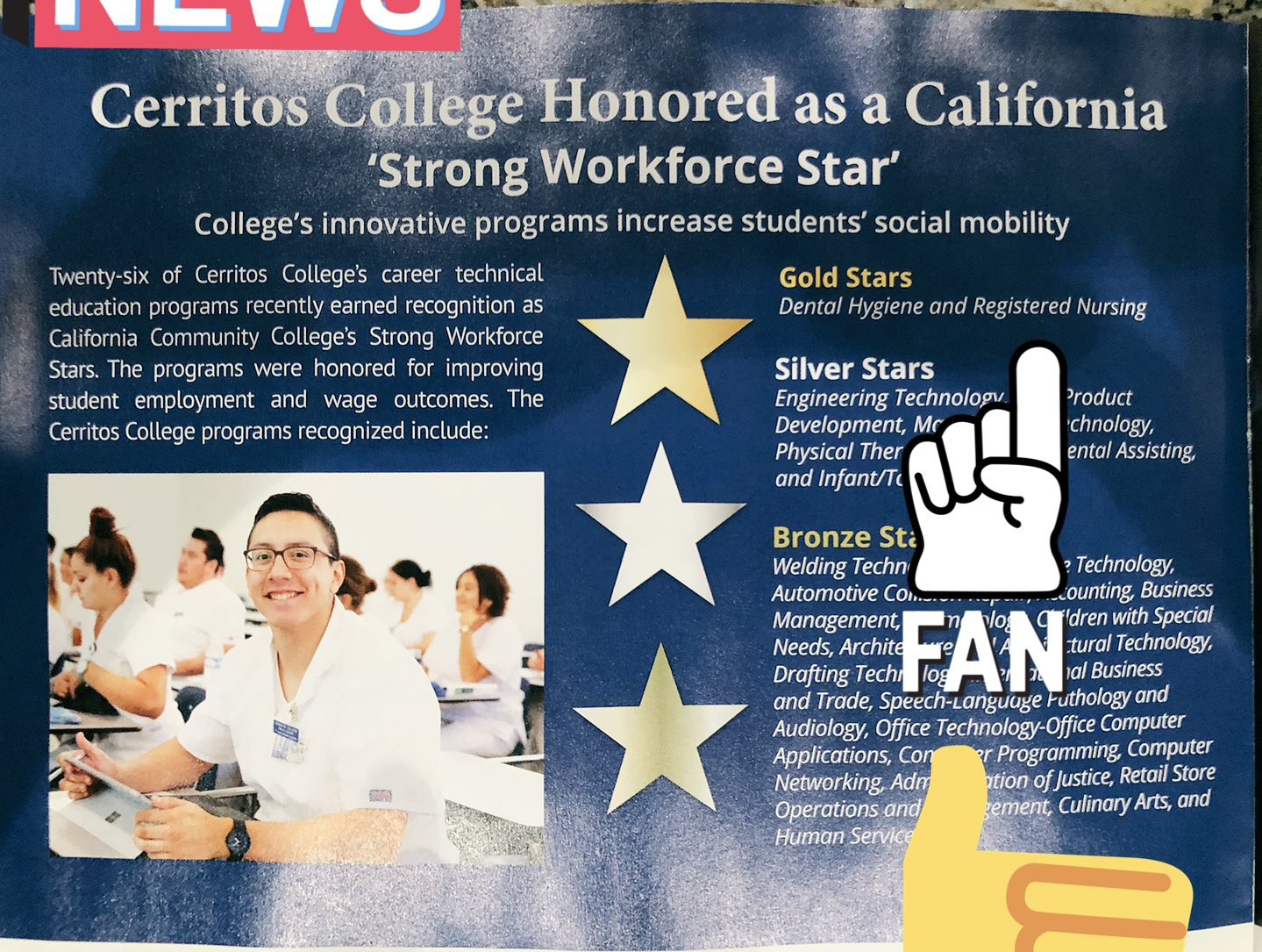 Kbrooks Msned Rn On Twitter Cerritos College Nursing Receives Ca State Recognition Gold Star For Being A Top Vocational Program With High Completion Rates Board Pass Rates And Employment Rates And
