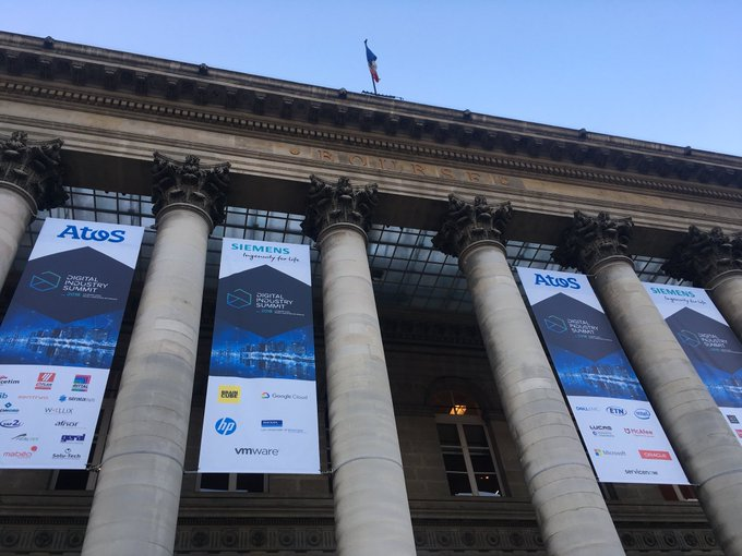 .@ThierryBreton will open the #DigitalIndustrySummit in a few minutes at the Palais Brongniart...