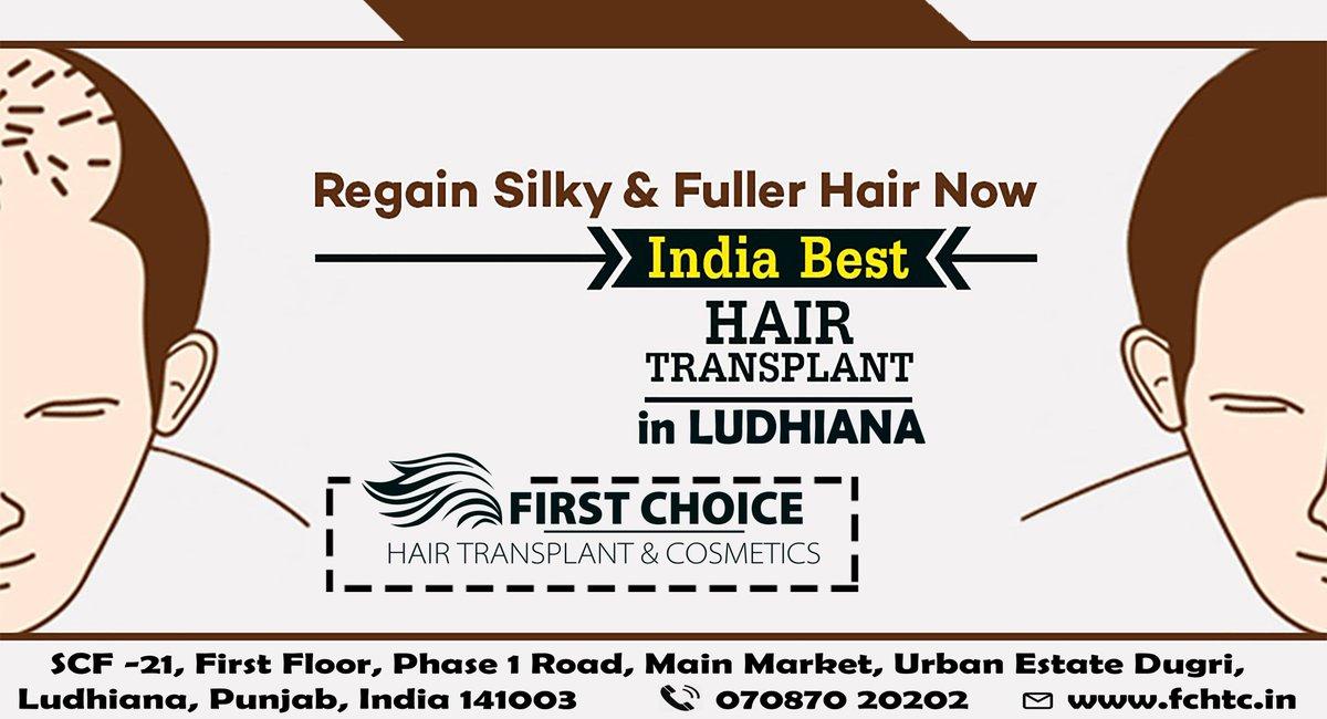 hairtransplantinludhiana hashtag on Twitter