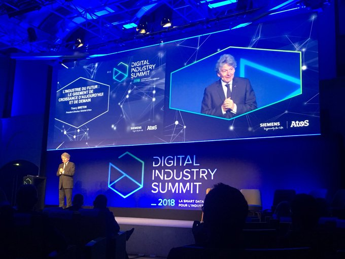 ".@ThierryBreton at the #DigitalIndustrySummit : ""The Industry digitalization &..."