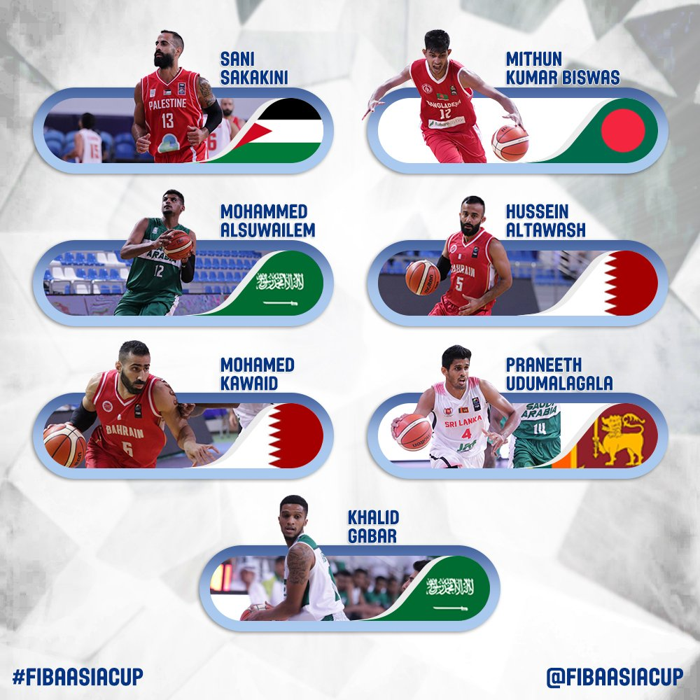 ✍ Whos your favorite player from the #FIBAAsiaCup 2021 Western Pre-Qualifiers teams? 🇵🇸🇧🇭🇱🇰🇧🇩🇸🇦 ☑️🗳 Vote & let us know!
