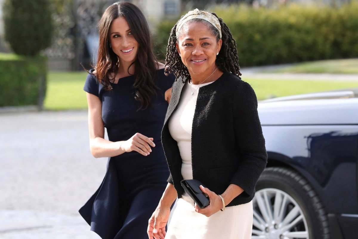 Meghan Markle's mom Doria Ragland reacts to royal baby news https://t.co/bMsjan6VcK