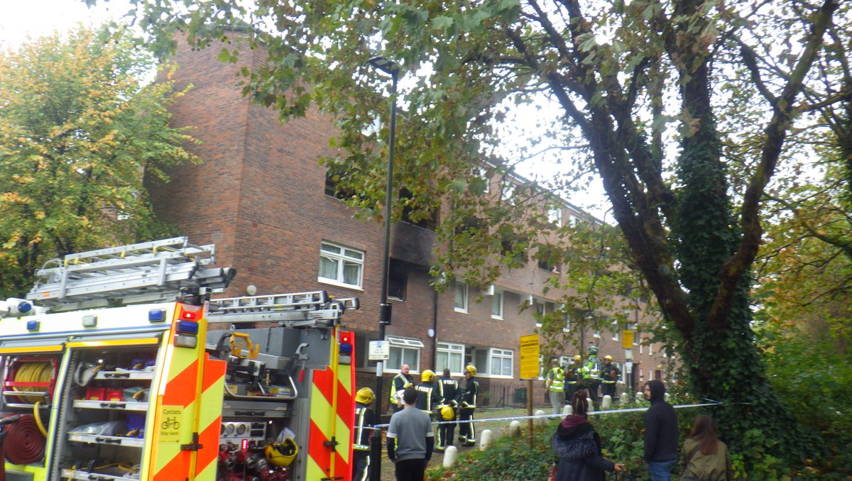 A maisonette was damaged after a fire in #Islington Fortunately, there were no reports of any injuries https://t.co/fpjeHn5ARR