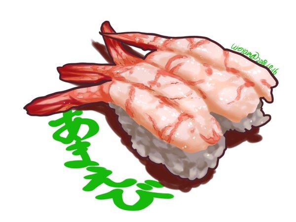 烏鷺山uroyama On Twitter 甘エビ Shrimp Sushi 寿司 海老 甘