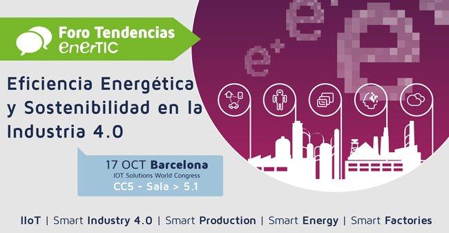 @enerTIC_es organiza el Foro de Industria 4.0 - via @M_Emprendedora https://t.co/hKZPh0z4nr...