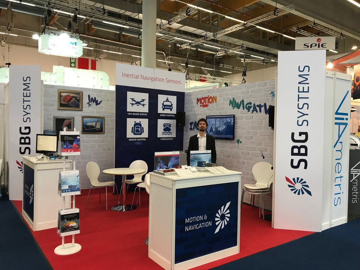 Our Chief Software Architect will do a demo of Qinertia INS/GNSS Post-processing software on the SBG stand #12.1, D.018, at 11:00 and 15:00. Add the demo to your planning! @InsideIntergeo #INTERGEO