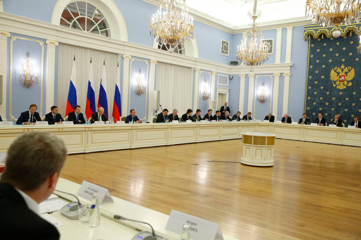 Dmitry Medvedev chaired a Foreign Investment Advisory Council meeting government.ru/en/news/34327/