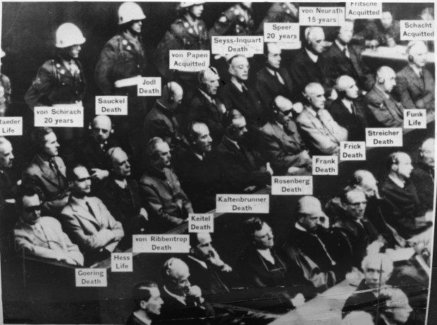 Nürnberg savaş suçluları mahkemesi resimleri ile ilgili görsel sonucu